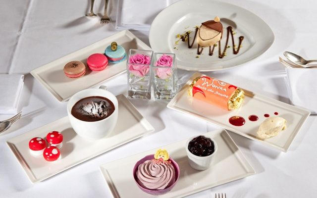 Wacky Willy Wonka dessert delights at The Montagu