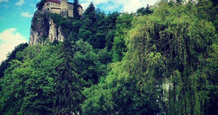 Snapshots of Lake Bled: Interrailing 2013