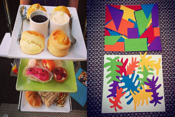 Matisse Cut Outs Afternoon Tea at Le Meridien Piccadilly