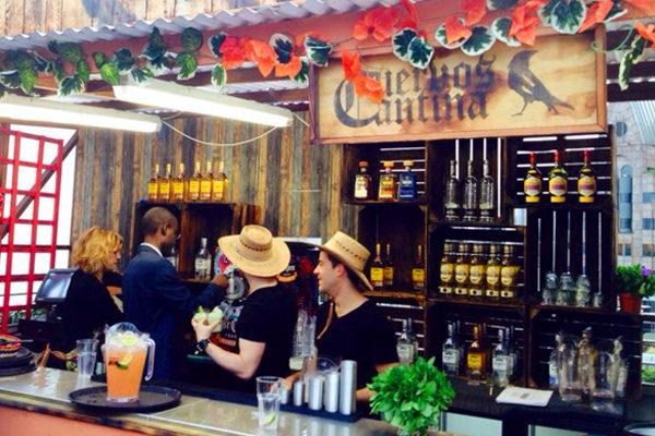 Cuervo's Cantina pop-up at Skylounge