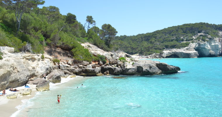 In search of Menorca's best beaches