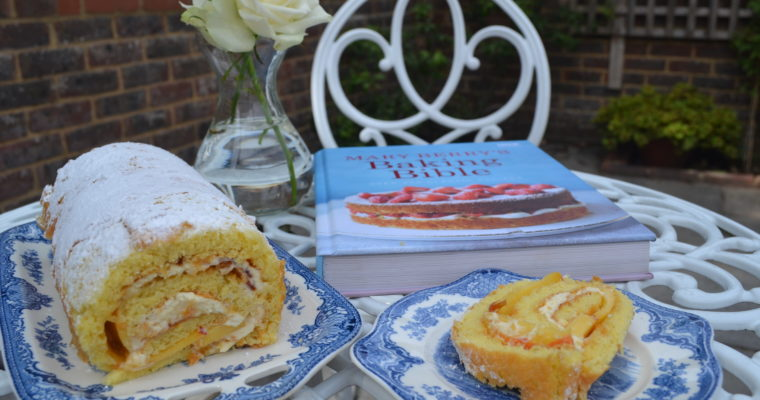 Baking: Mary Berry's Swiss Roll