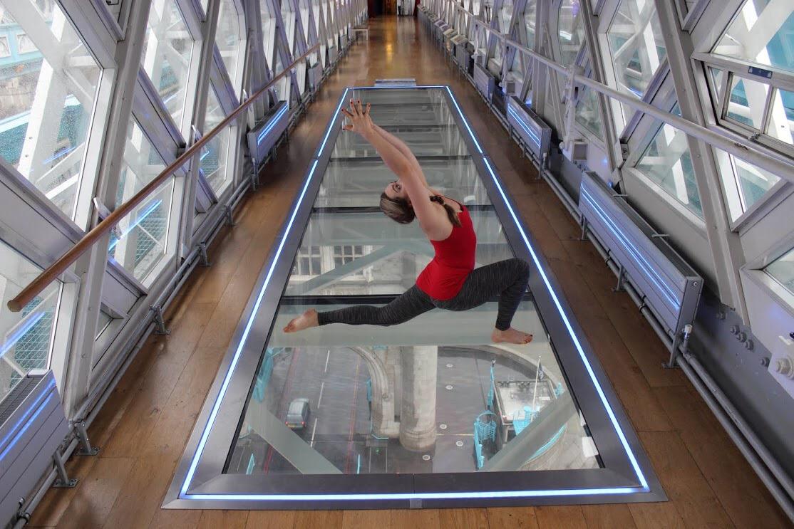 The London Scoop: Yoga on Tower Bridge's Glass Floor