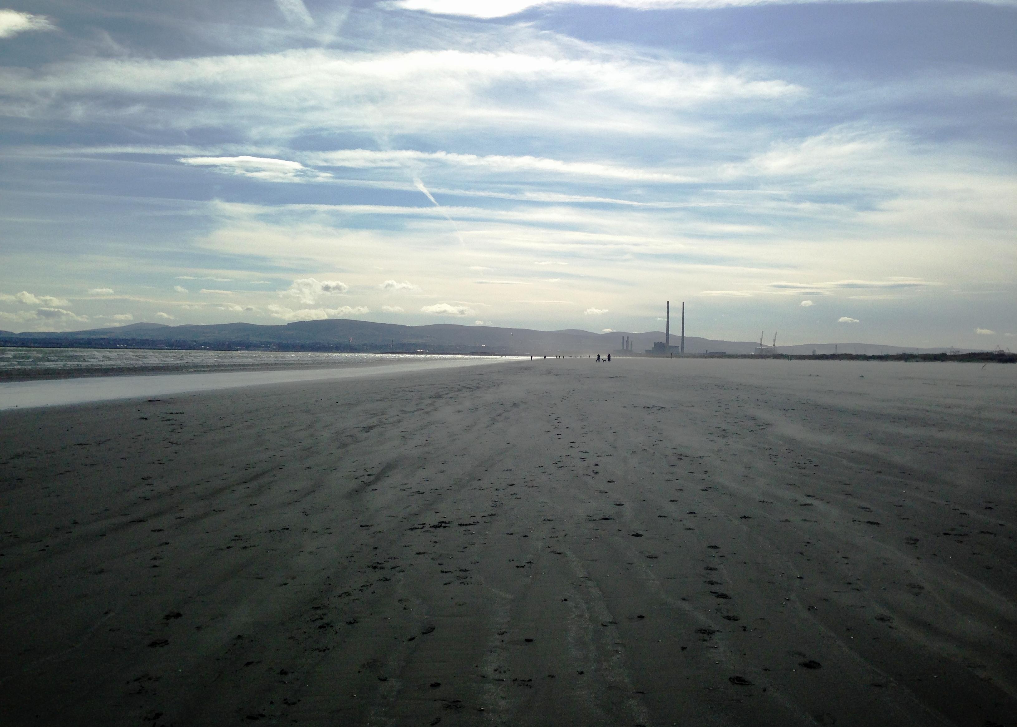 The best beach in Dublin: Dollymount Strand