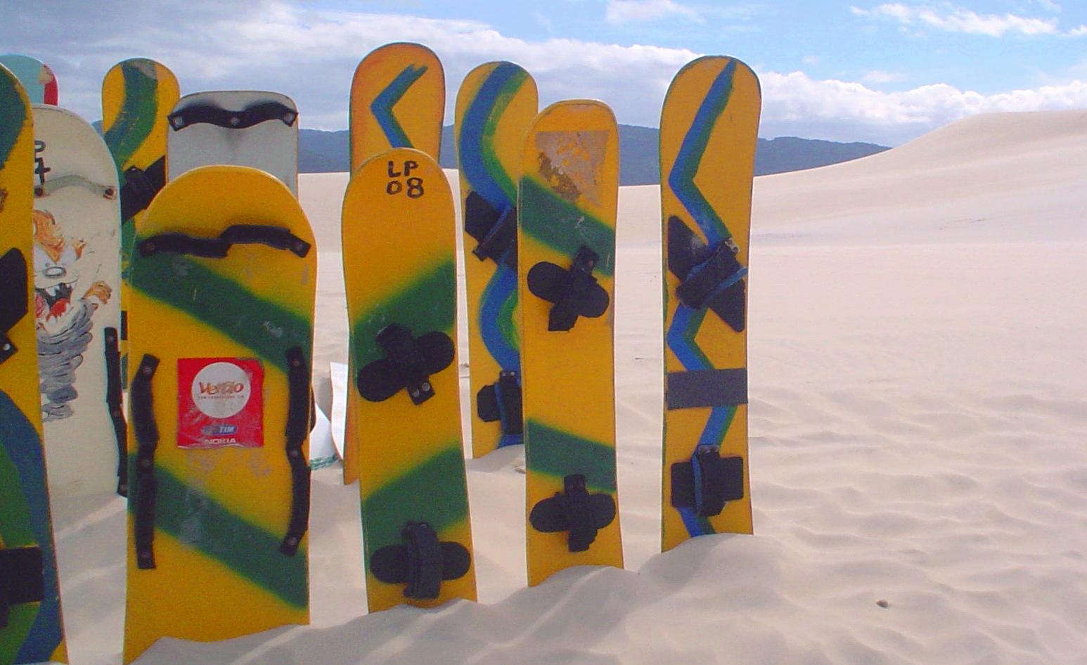 Sandboarding in Huacachina, Peru