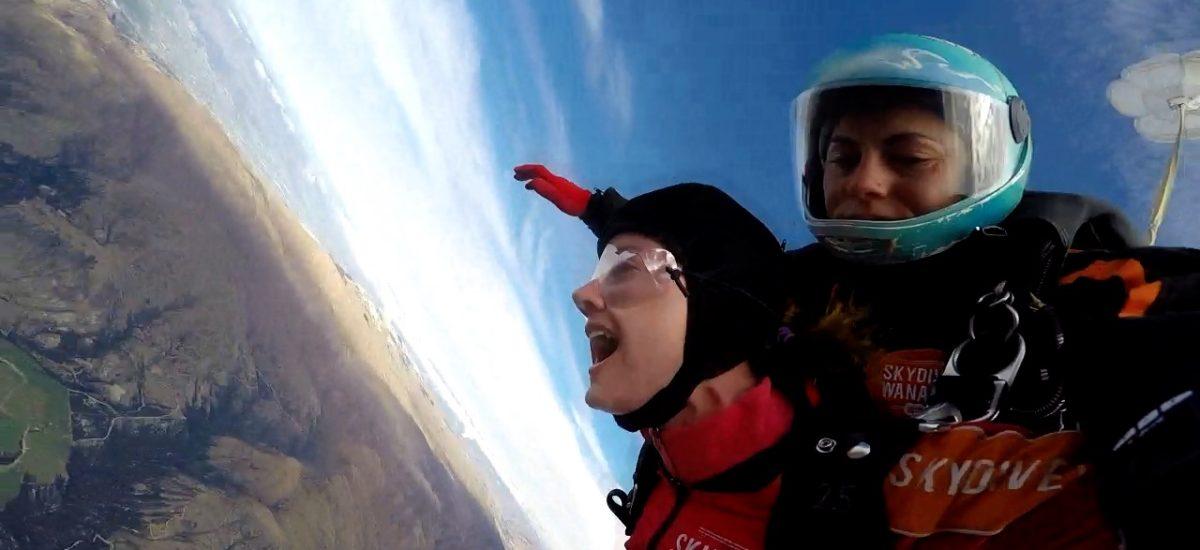 Skydiving over Lake Wanaka