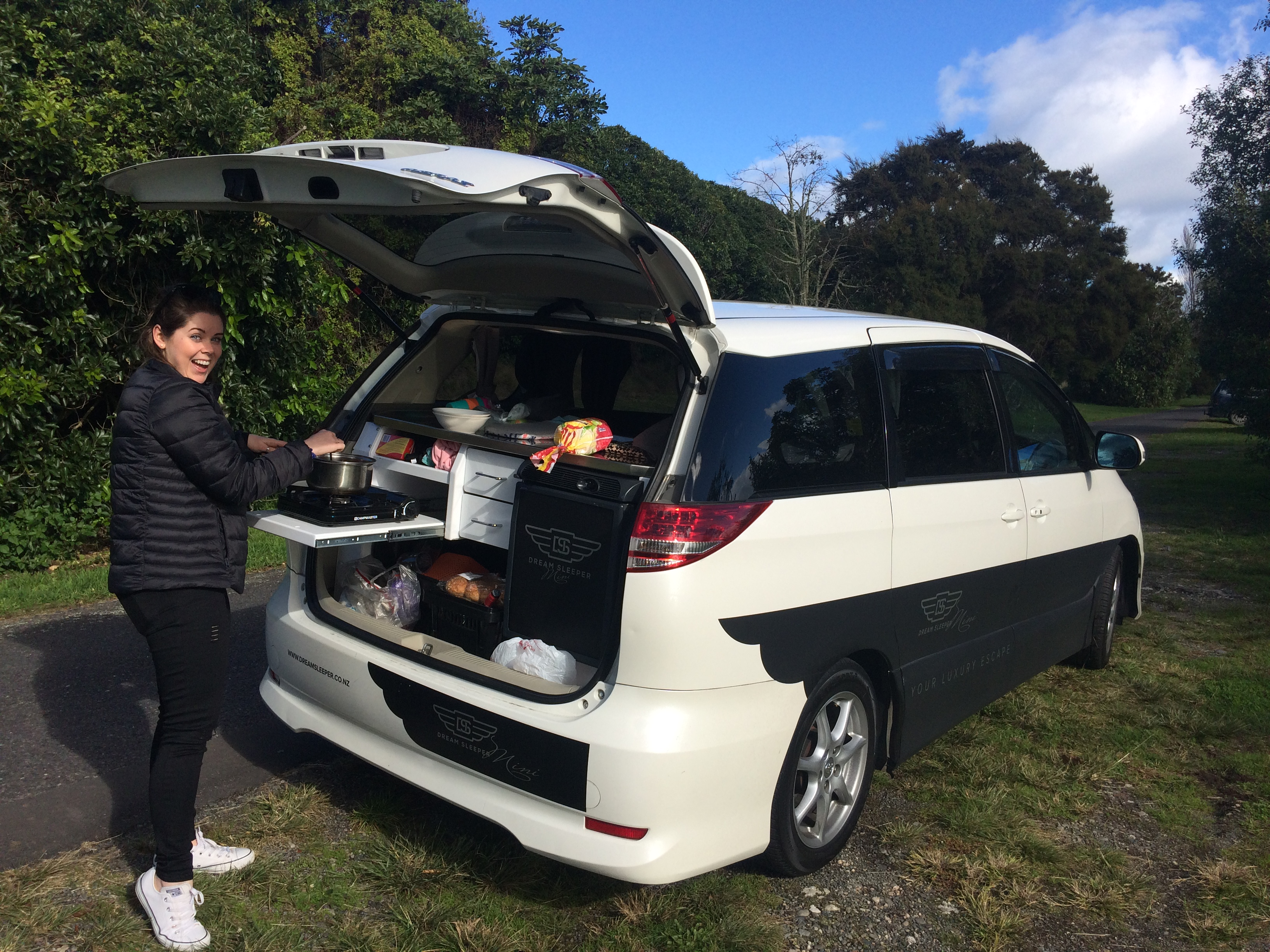 New Zealand Road Trip Tips - Dream Sleeper Mini Spaceships c Sarah Gibbons