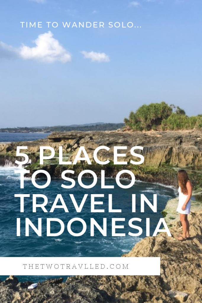 Solo Travel in Indonesia -- Pinterest